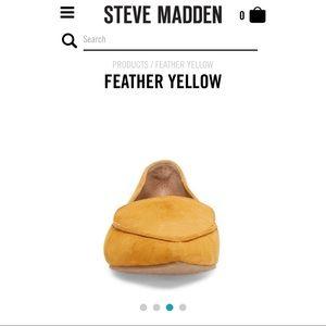 Steve Madden Shoes - Feather Mustard Flats - Steve Madden New